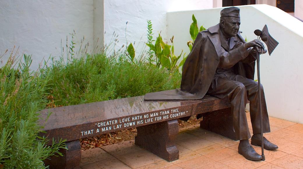 Pleasanton das einen Statue oder Skulptur und Gedenkstätte