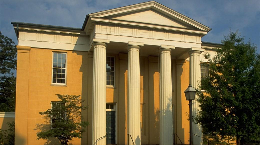 Alexandria que incluye un edificio administrativo y arquitectura patrimonial