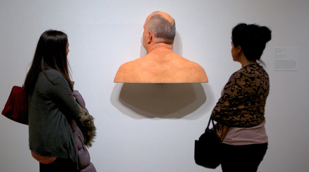 Columbus Museum of Art caracterizando vistas internas