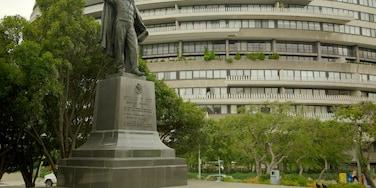 Foggy Bottom mettant en vedette statue ou sculpture, ville et mémorial