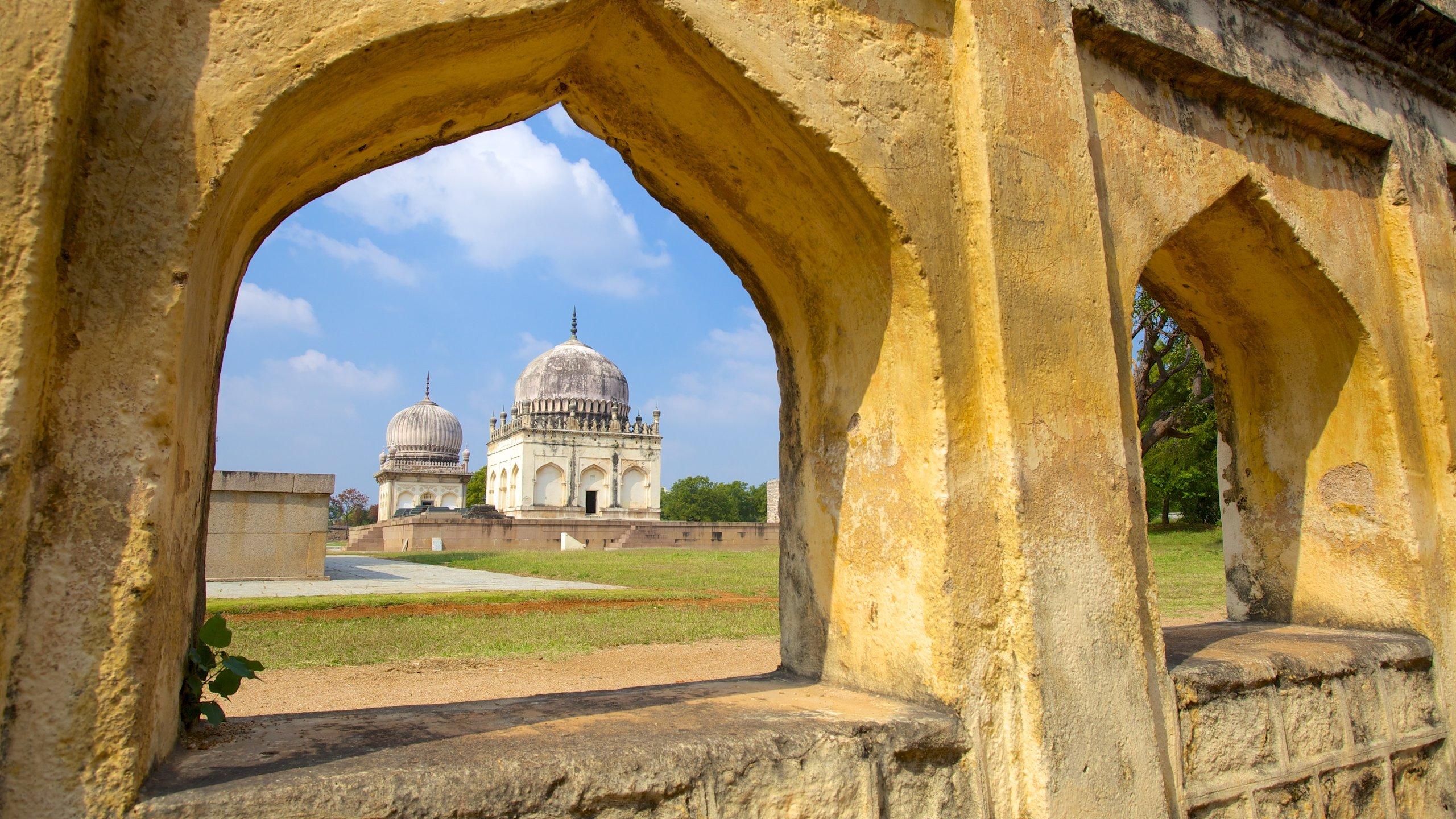 Tombes van Qutub Shahi, Hyderabad, Telangana, India