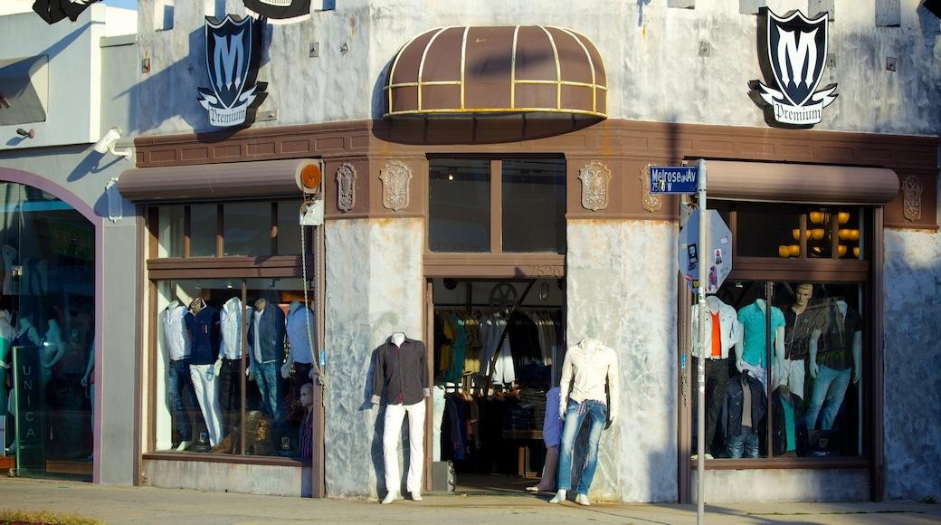 Melrose Avenue das einen Einkaufen und Fashion