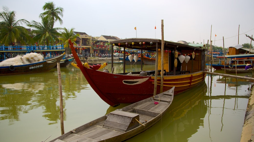 Hoi An featuring a marina and boating