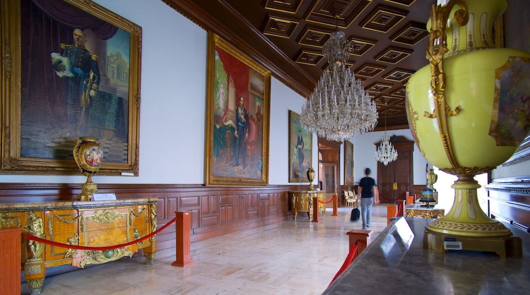 Palacio de Gobierno mostrando vistas interiores, castillo o palacio y arte