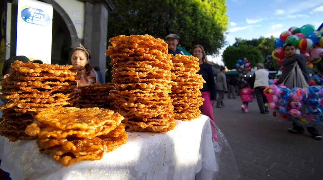 El Parián ofreciendo mercados y comida