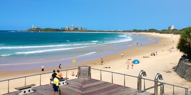 Mooloolaba featuring landscape views, a sandy beach and views