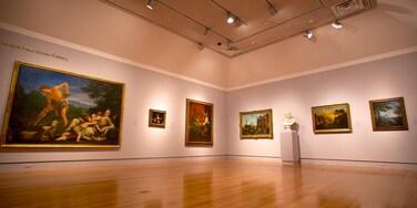 Norton Museum of Art qui includes vues intérieures et art