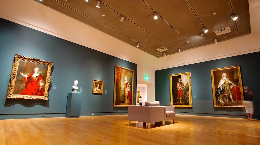Norton Museum of Art caratteristiche di vista interna e arte