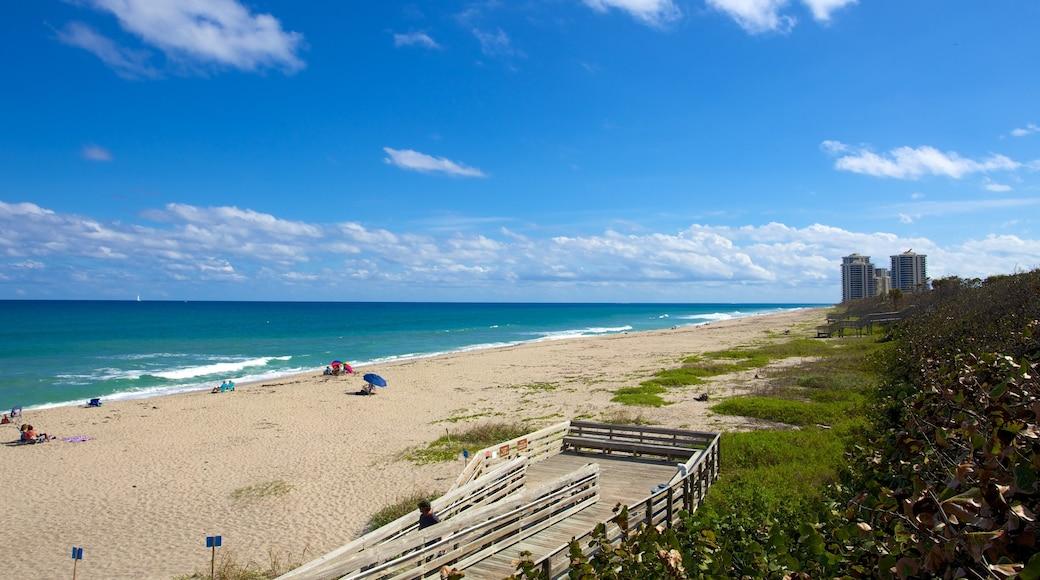 Parco Nazionale John D. MacArthur caratteristiche di spiaggia e ponte