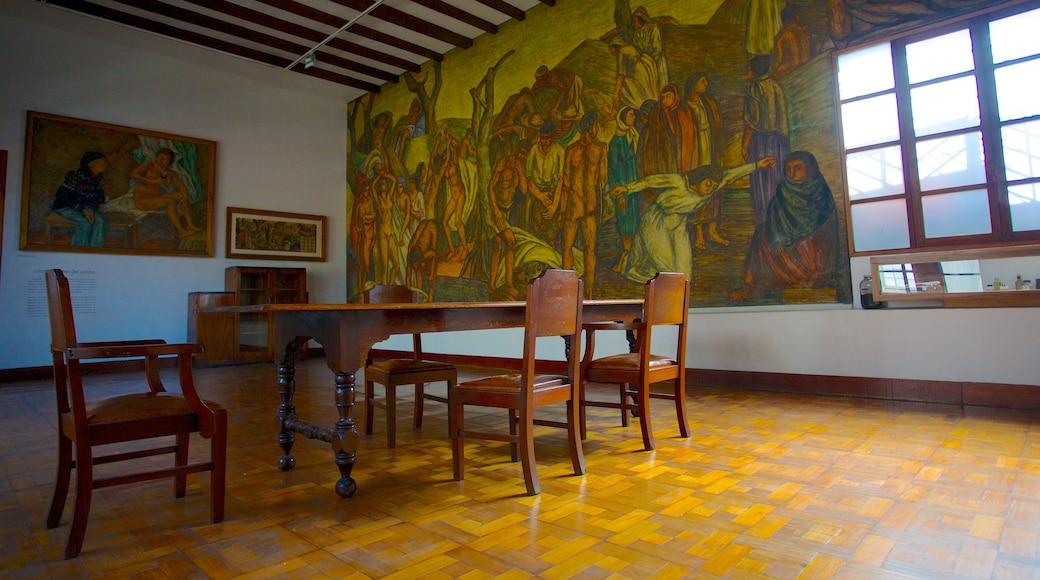 Fundación Casa Museo Maestro Pedro Nel Gómez que inclui vistas internas e arte