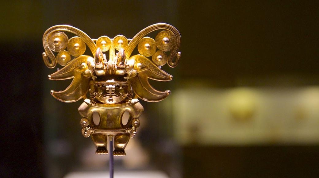 Gold Museum featuring art