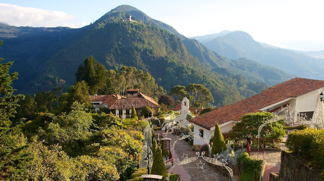 Monserrate which includes mountains, tranquil scenes and landscape views