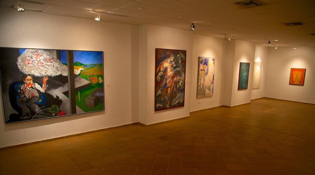 Quinta de San Pedro Alejandrino featuring art and interior views