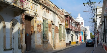 Historic Center which includes heritage elements, a city and street scenes