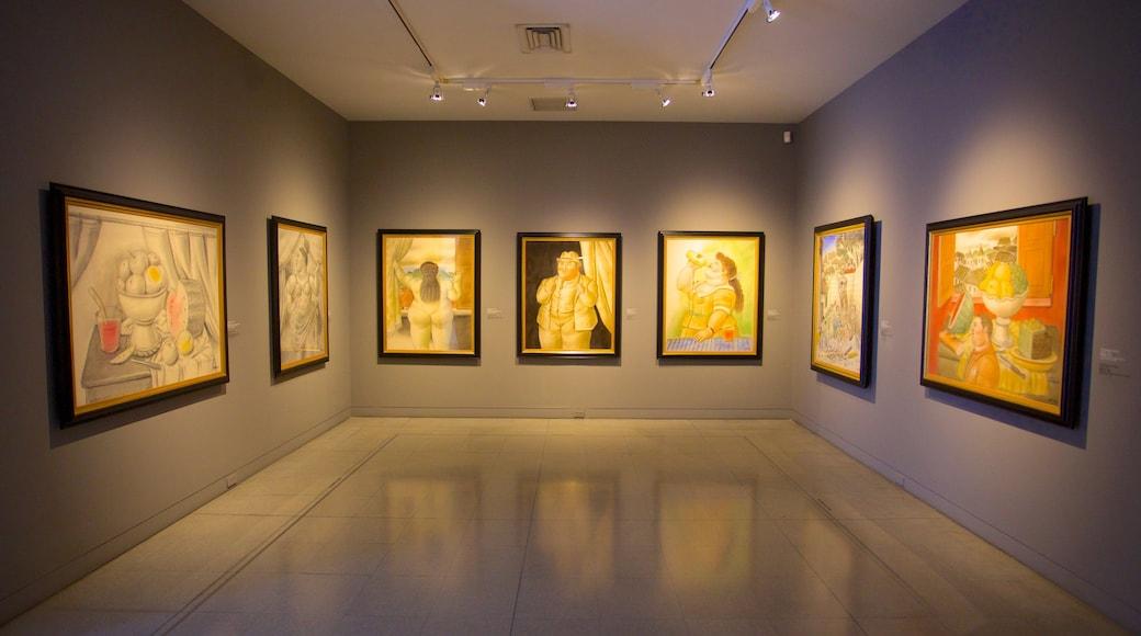 Musée d\'antioquia mettant en vedette vues intérieures et art