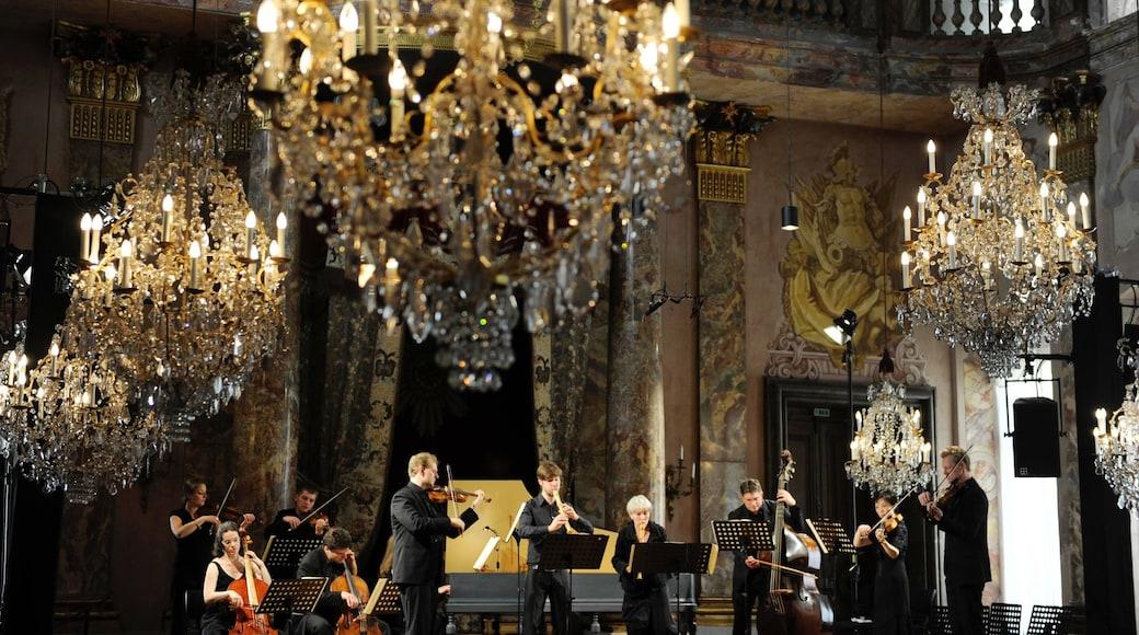 루드빅스부르크 을 보여주는 실내 전경, 공연 예술 과 궁전 또는 고성
