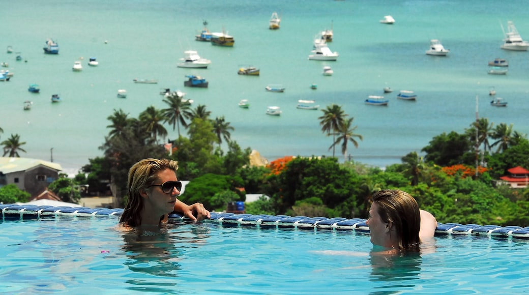 San Juan del Sur showing general coastal views, a pool and swimming