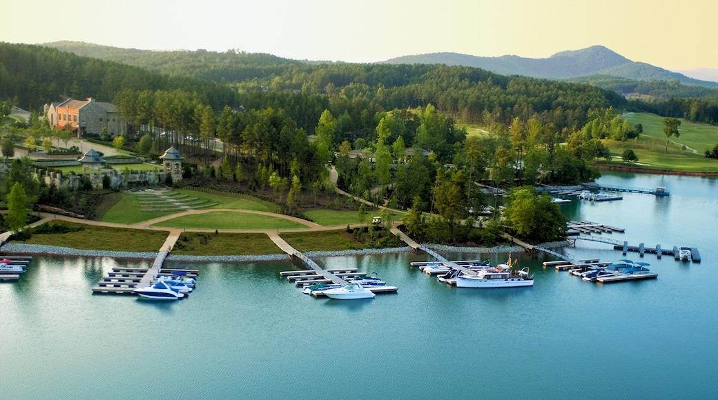 Greenville - Spartanburg mostrando vista del paesaggio, località costiera e paesaggi rilassanti