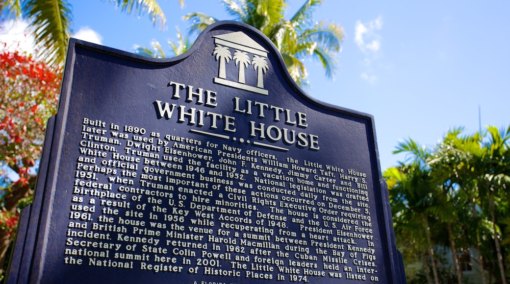 Harry S. Truman Little White House showing signage