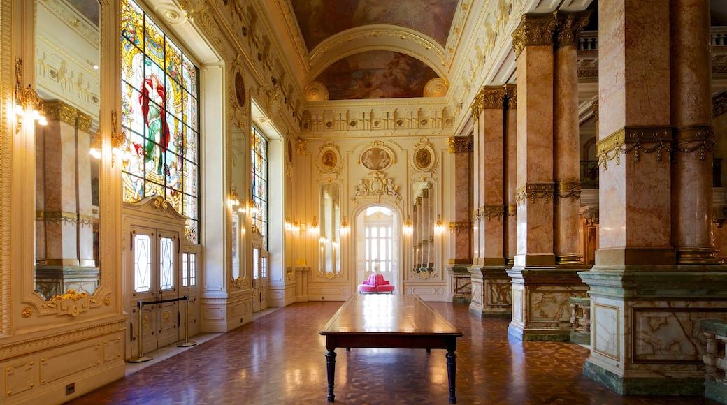 Municipal Theater showing interior views