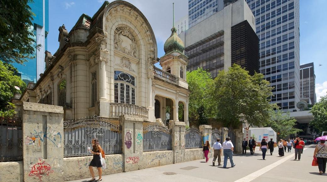 Paulista Avenue que incluye arquitectura patrimonial