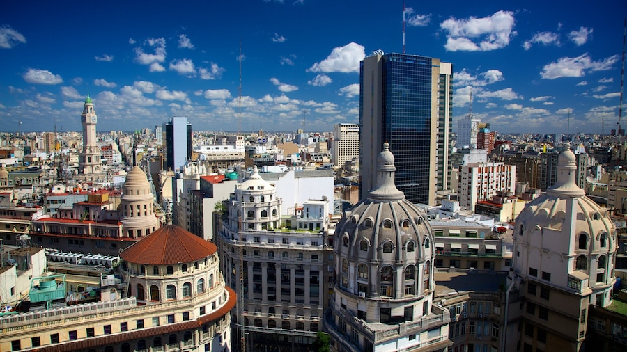Buenos Aires featuring a city and a high rise building