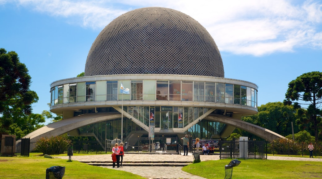 Buenos Aires which includes modern architecture and an observatory