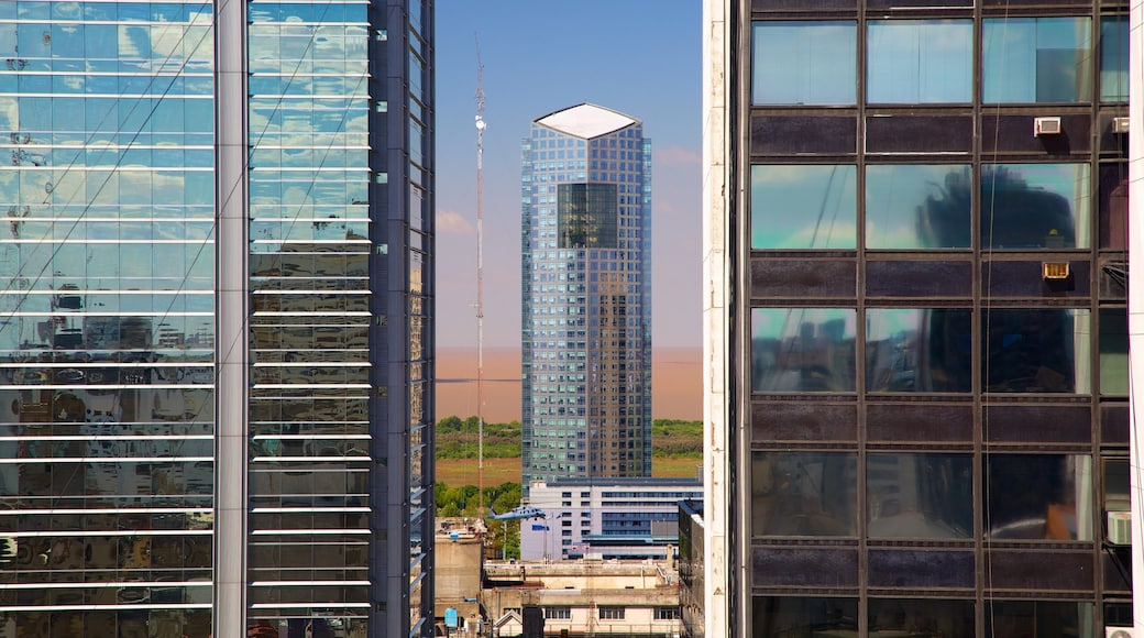 Argentina which includes a skyscraper, a city and modern architecture
