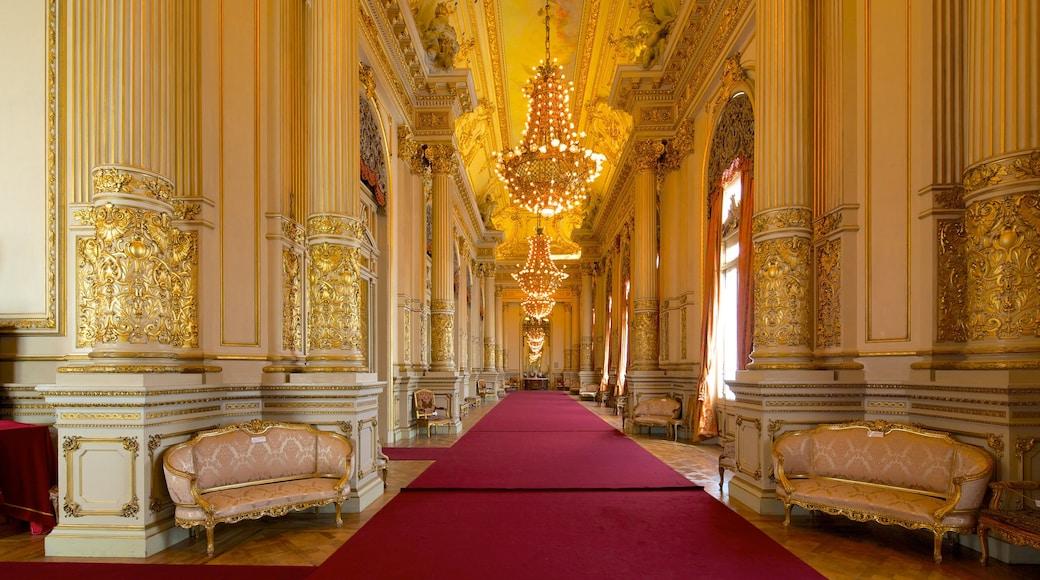 Teatro Colon featuring interior views and theatre scenes