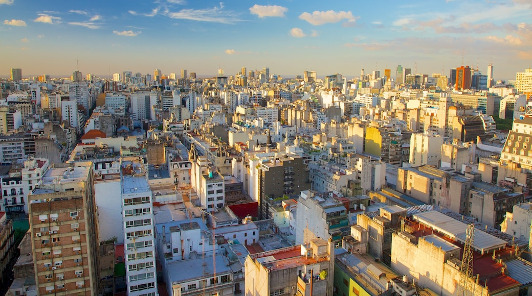 Buenos Aires featuring a city