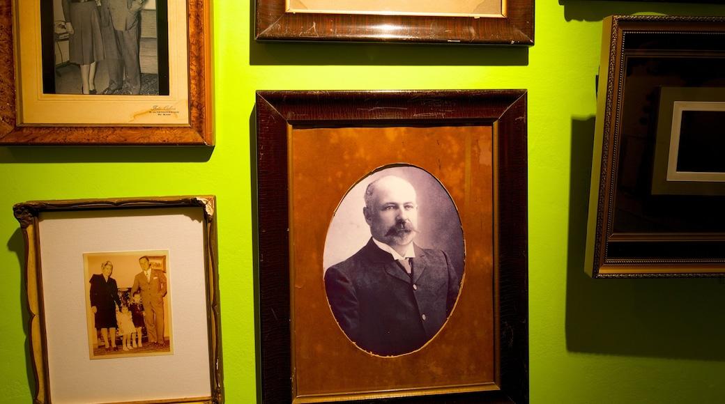 Evita Museum featuring interior views and heritage elements