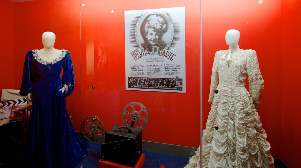 Evita Museum showing heritage elements and interior views
