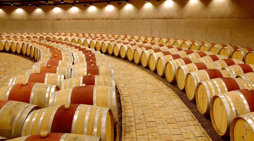 Catena Zapata Winery showing interior views
