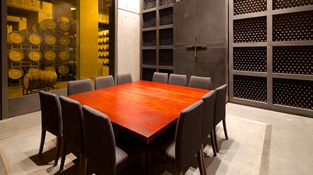 Navarro Correas Winery showing interior views