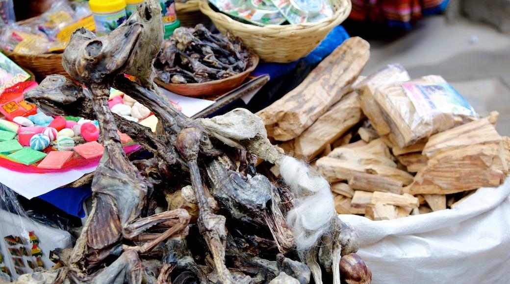 Hexenmarkt das einen Speisen