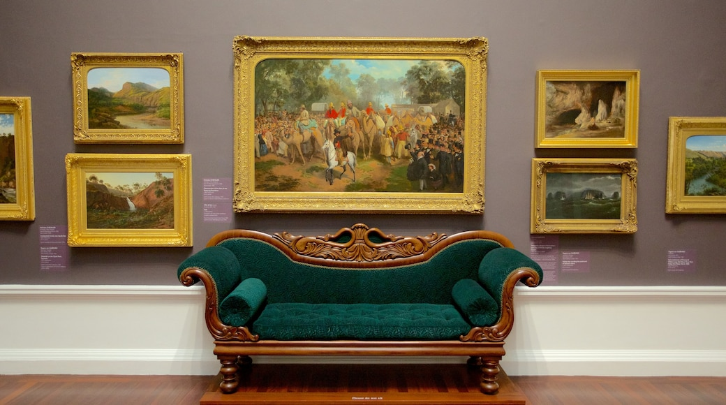 Art Gallery of South Australia featuring interior views and art