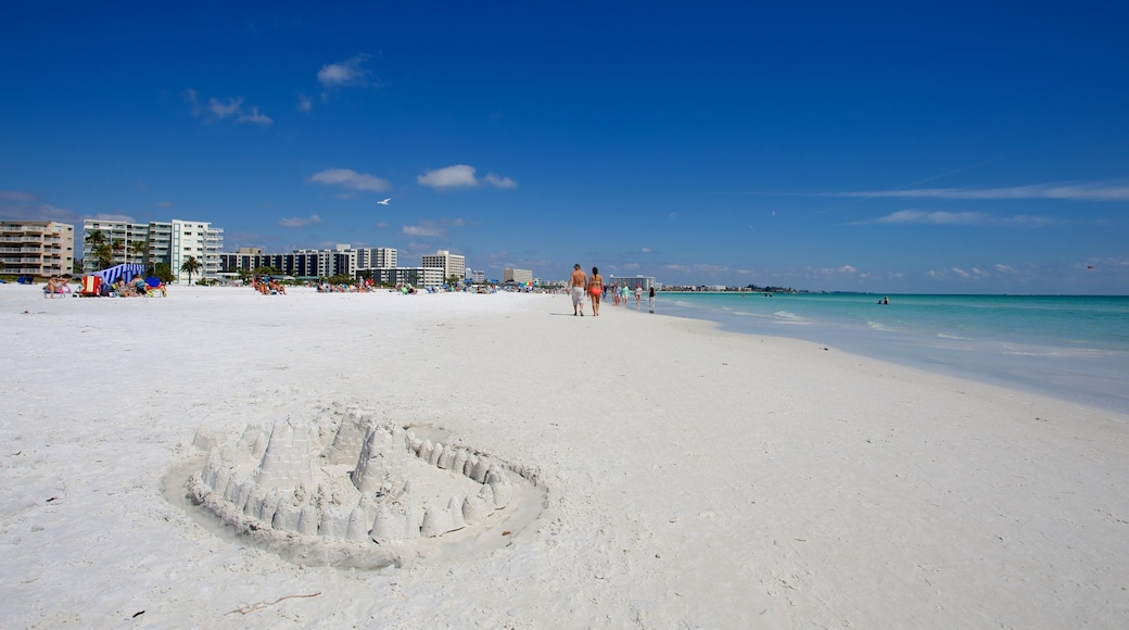 Siesta Key caratteristiche di spiaggia