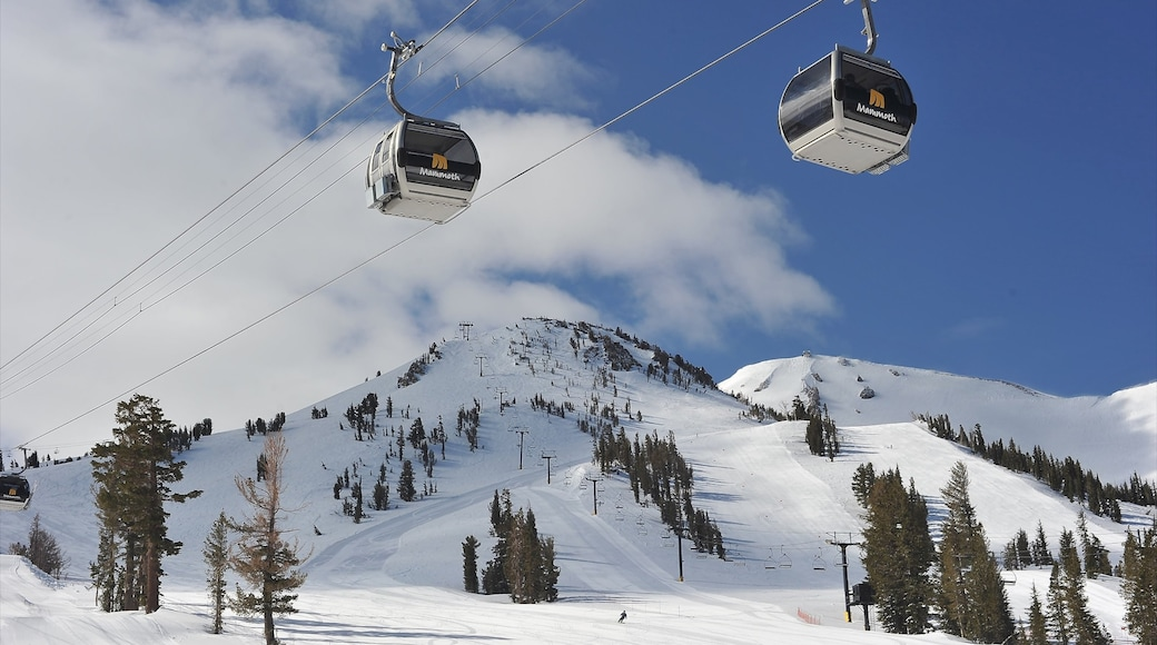 Central Interior California which includes a gondola, snow and mountains