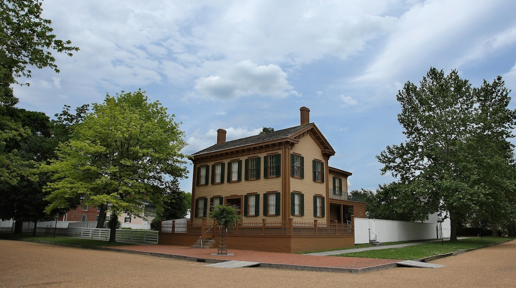 Springfield showing a house and heritage architecture