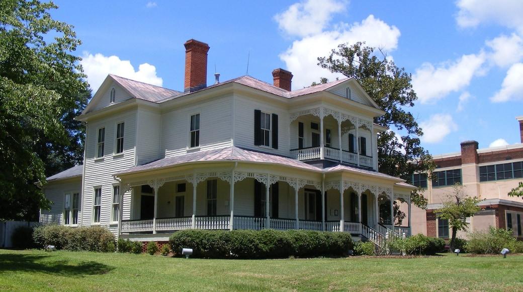 Fayetteville mit einem Haus