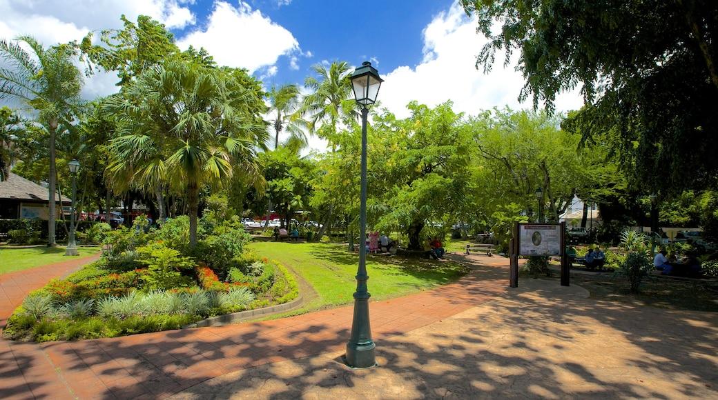 Parc Bougainville das einen Park