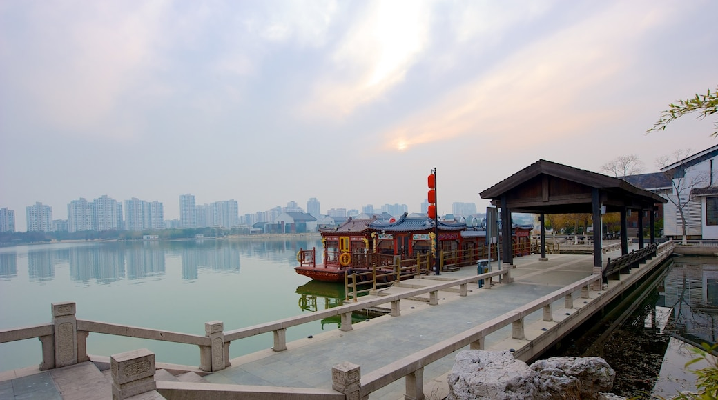 Suzhou featuring a river or creek