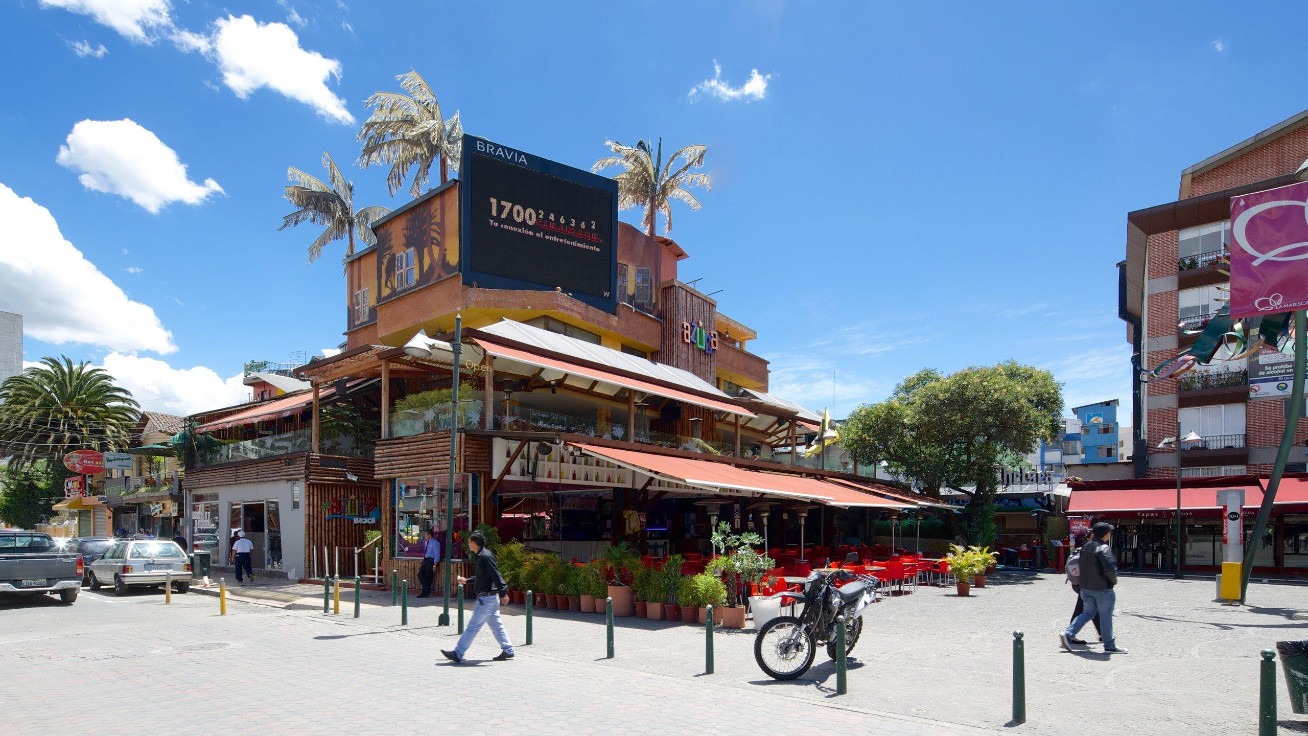 Foch Square, Quito, Pichincha, Ecuador