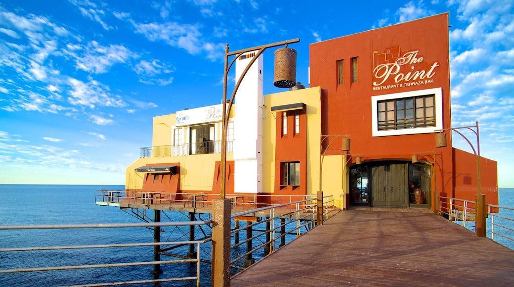 Puerto Penasco which includes street scenes and general coastal views