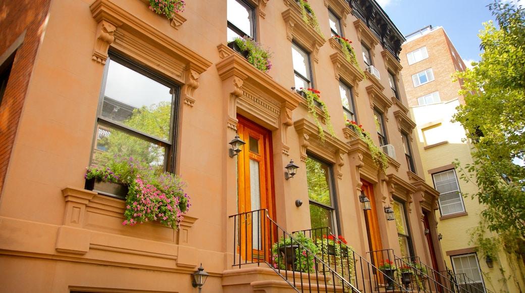 Brooklyn Heights som inkluderer hus