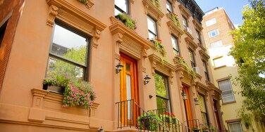 Brooklyn Heights som visar ett hus