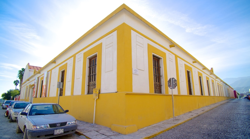 Barrio Antiguo que incluye escenas urbanas