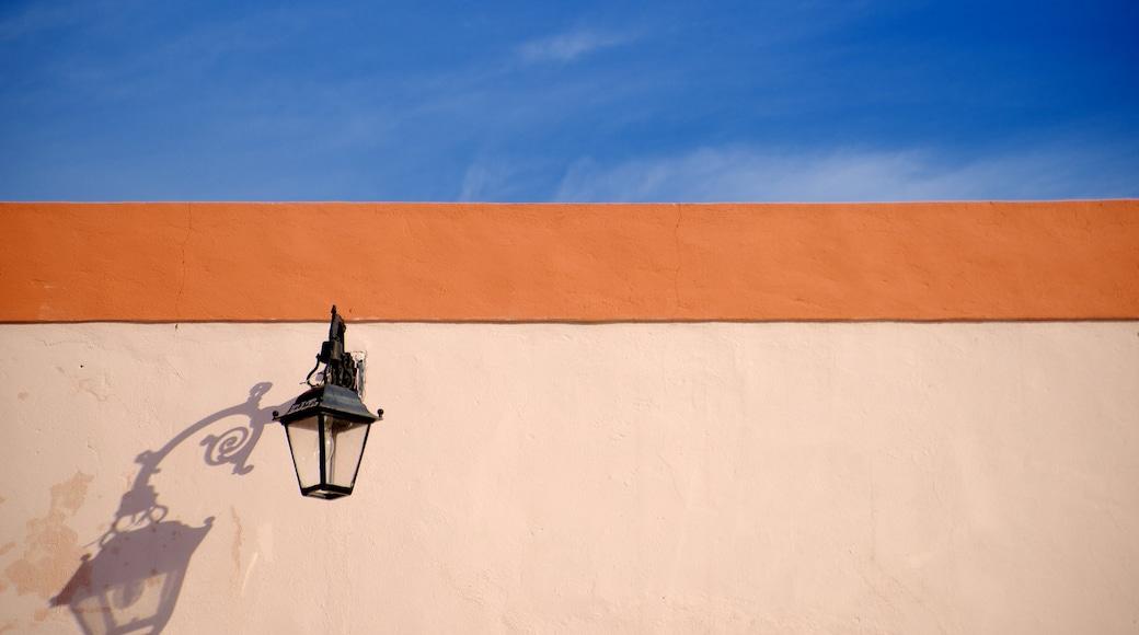 Barrio Antiguo ofreciendo arte