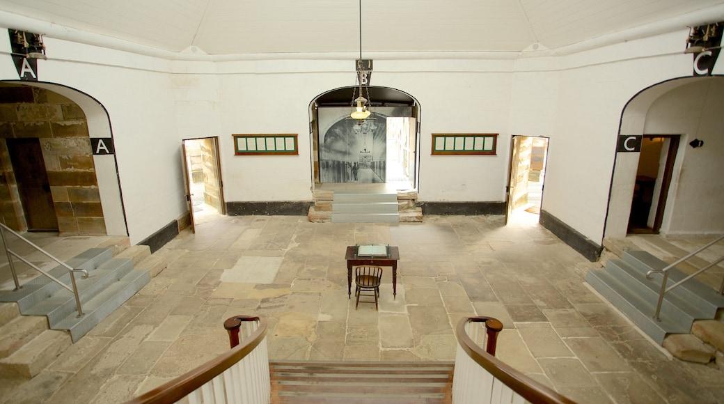 Port Arthur Historic Site which includes interior views