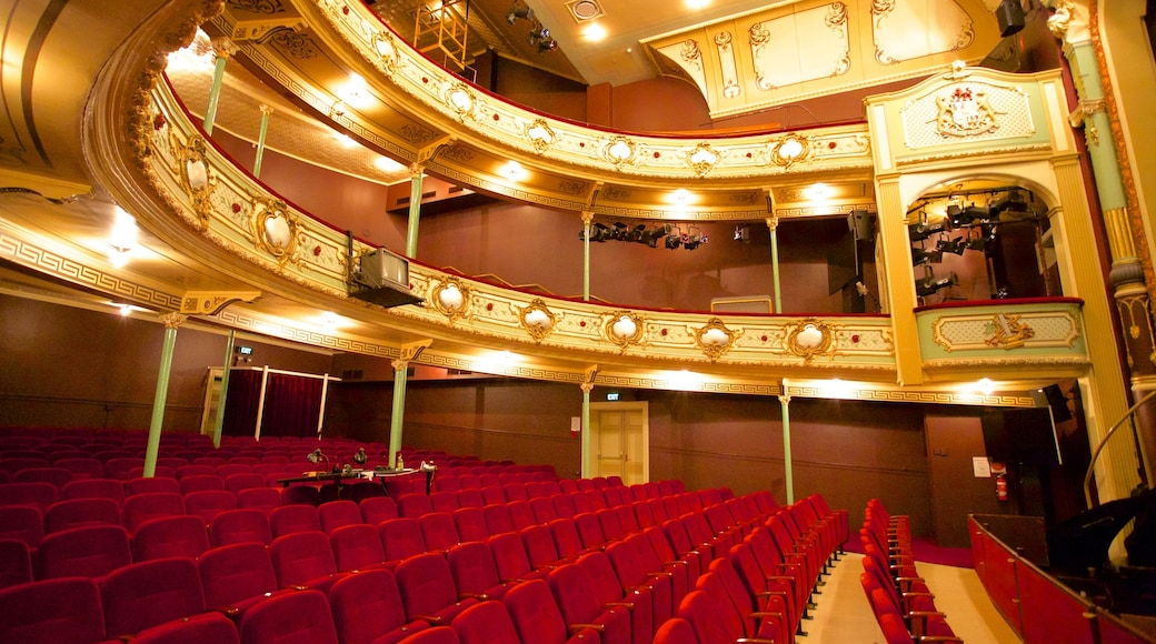 Theatre Royal showing interior views and theatre scenes